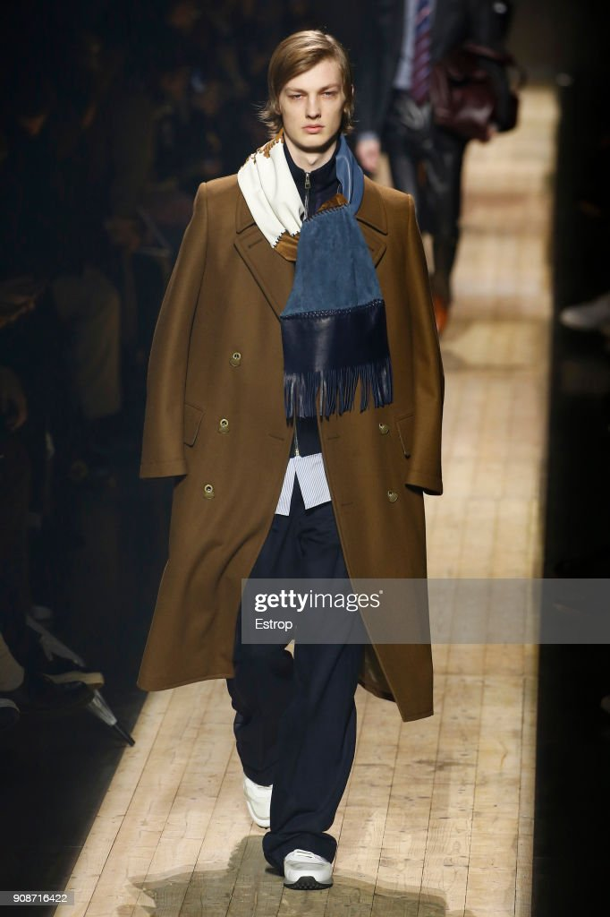 Dunhill London : Runway - Paris Fashion Week - Menswear F/W 2018-2019