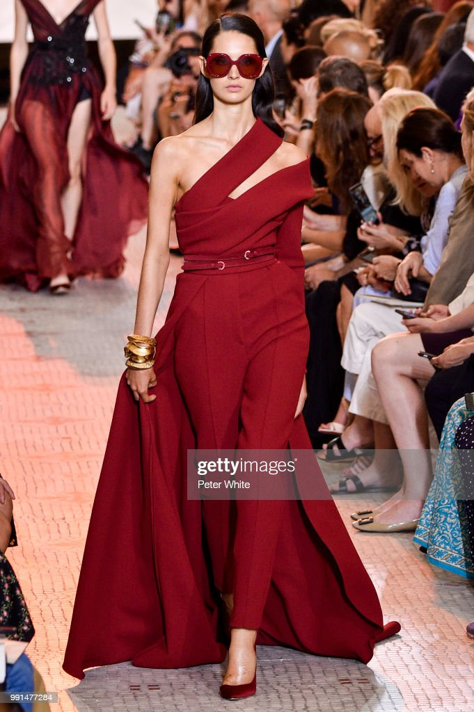 model-walks-the-runway-during-the-elie-saab-haute-couture-fall-winter-picture-id991477284