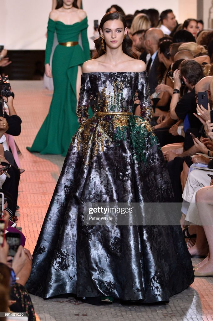 model-walks-the-runway-during-the-elie-saab-haute-couture-fall-winter-picture-id991481020