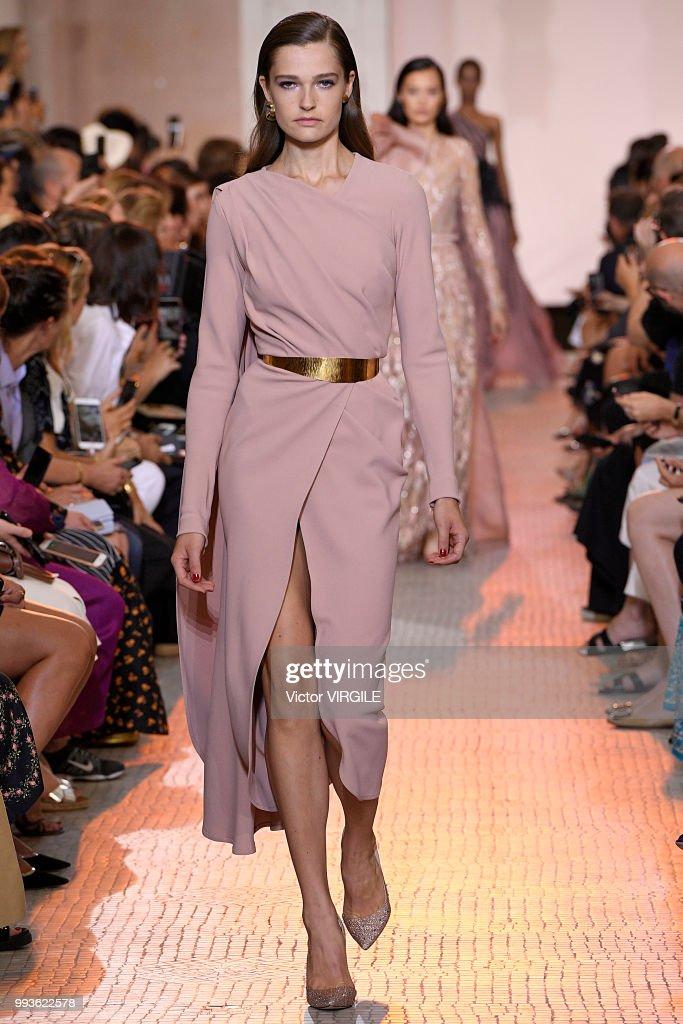 Elie Saab : Runway - Paris Fashion Week - Haute Couture Fall Winter 2018/2019 : News Photo