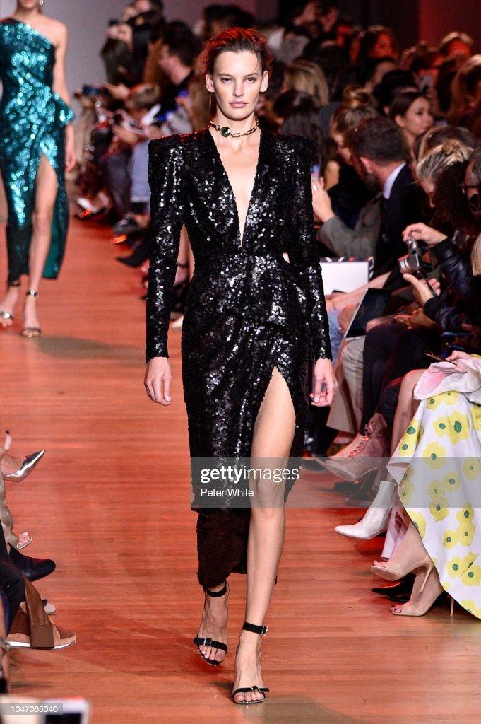 Elie Saab : Runway - Paris Fashion Week Womenswear Spring/Summer 2019 : News Photo