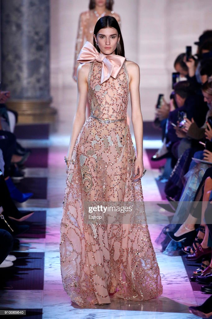model-walks-the-runway-during-the-elie-saab-spring-summer-2018-show-picture-id910065640