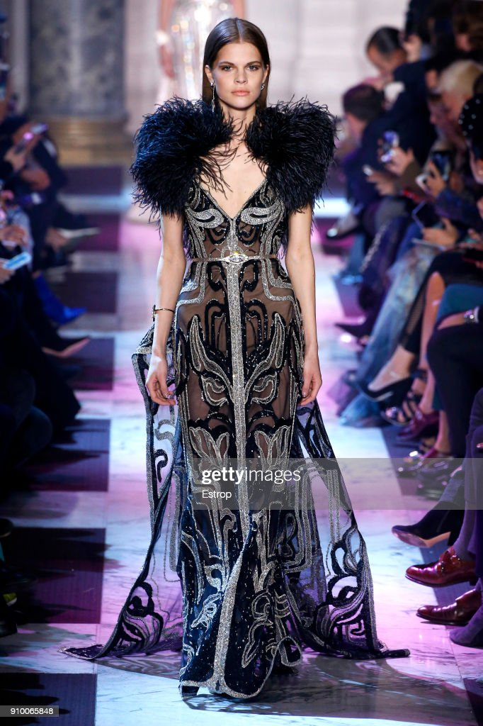 model-walks-the-runway-during-the-elie-saab-spring-summer-2018-show-picture-id910065848