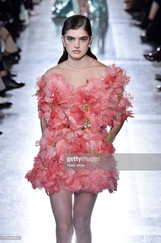 Elie Saab : Runway - Paris Fashion Week - Haute Couture Spring Summer 2019 : News Photo
