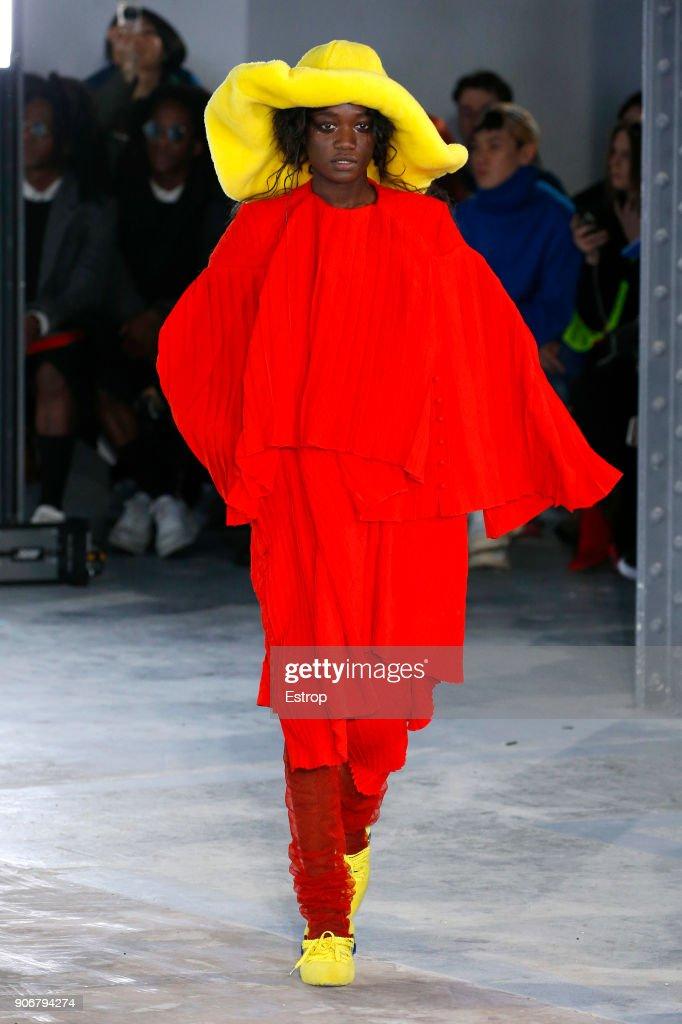 Facetasm : Runway - Paris Fashion Week - Menswear F/W 2018-2019 : ニュース写真