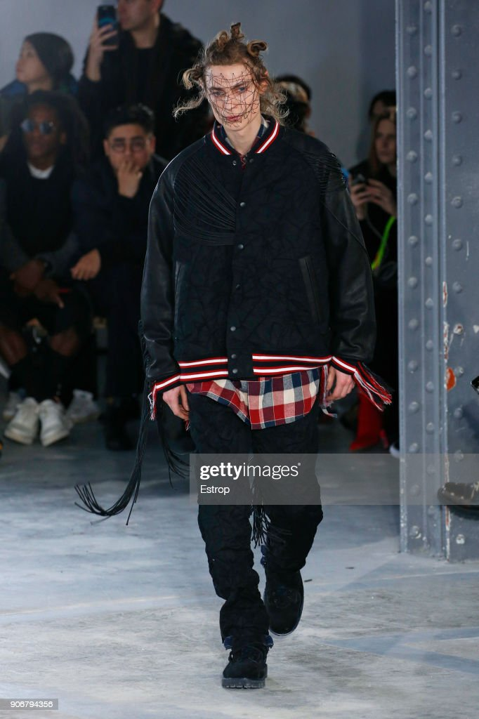 Facetasm : Runway - Paris Fashion Week - Menswear F/W 2018-2019 : Nachrichtenfoto