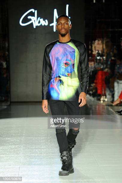 A model walks the runway during The Fashion Life Tour Presents New York Fashion Week on February 07 2020 in New York City
