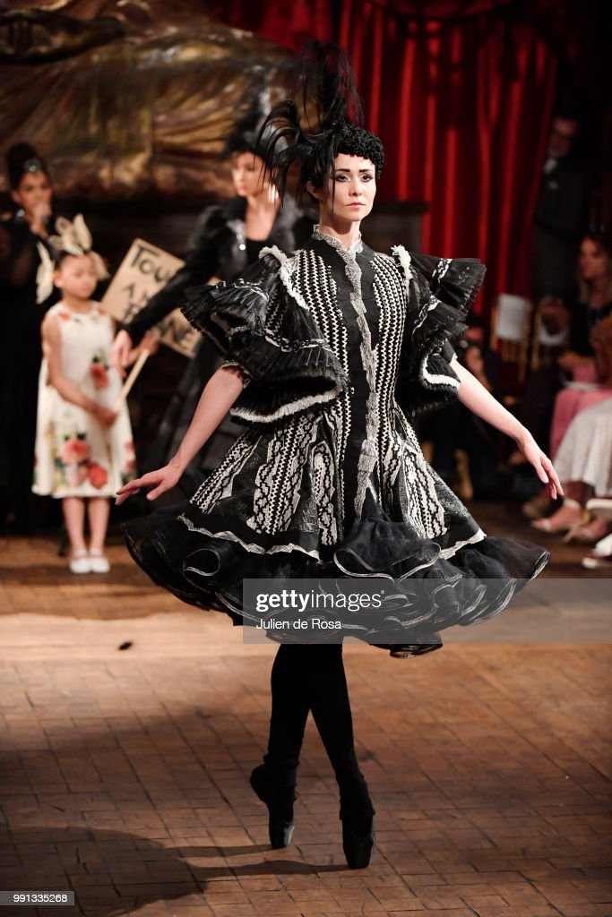model-walks-the-runway-during-the-franck-sorbier-haute-couture-fall-picture-id991335268