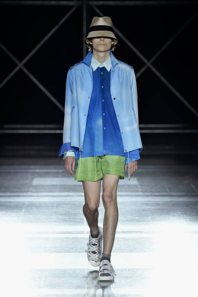 FRA: Fumito Ganryu : Runway - Paris Fashion Week - Menswear Spring/Summer 2020