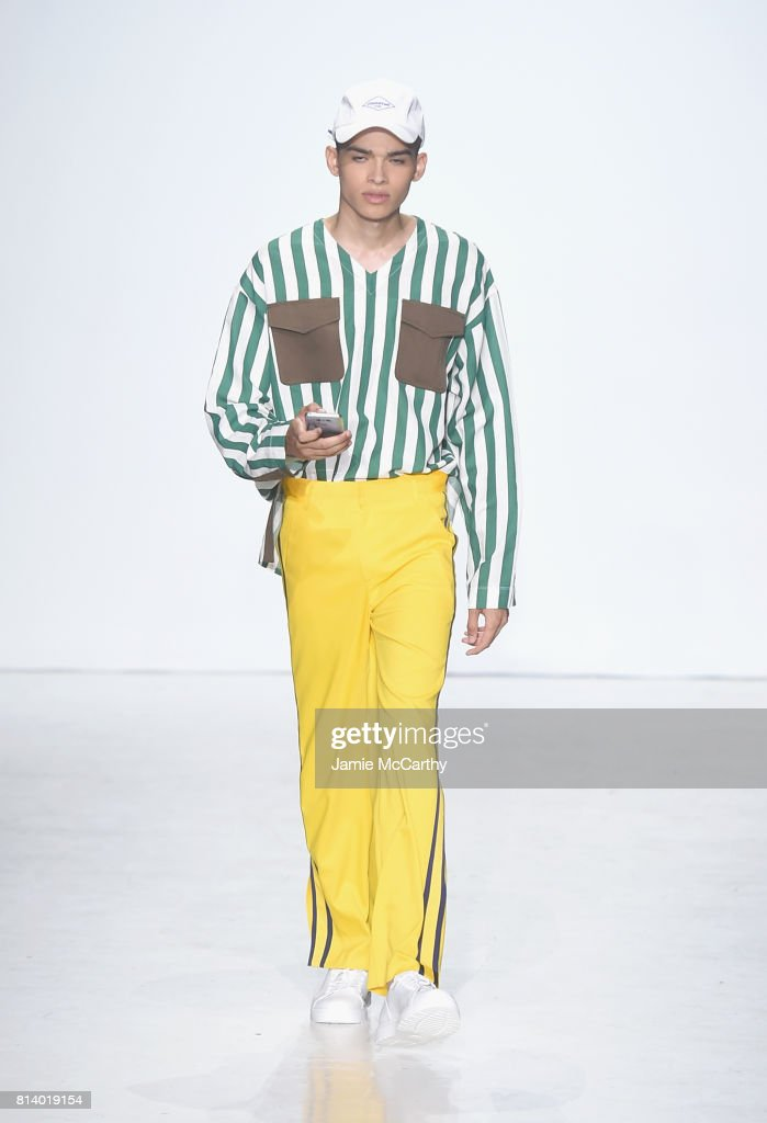General Idea - Runway - NYFW: Men's July 2017 : Fotografía de noticias