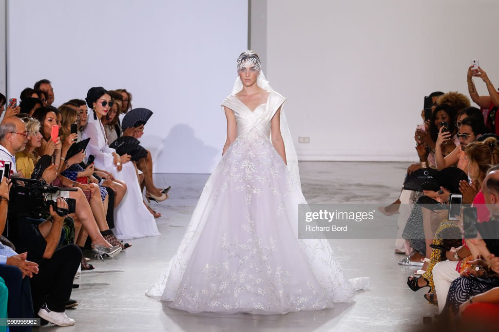 FRA: Georges Chakra : Runway - Paris Fashion Week - Haute Couture Fall Winter 2018/2019