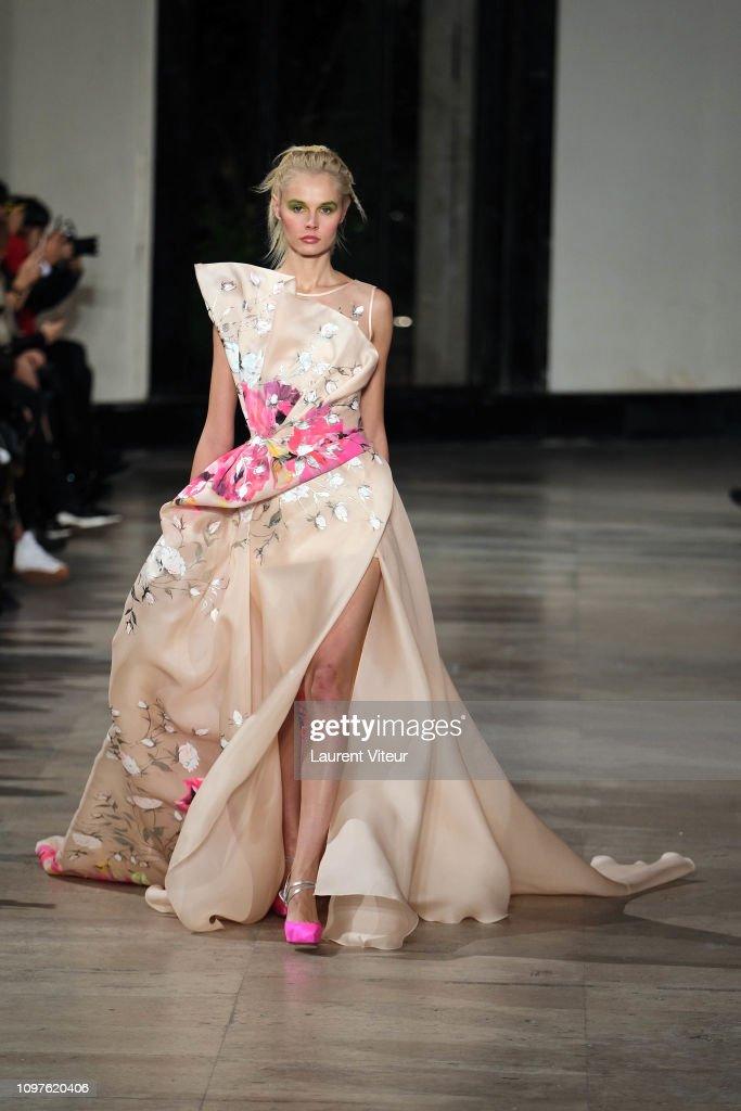 Georges Chakra : Runway - Paris Fashion Week - Haute Couture Spring Summer 2019 : News Photo