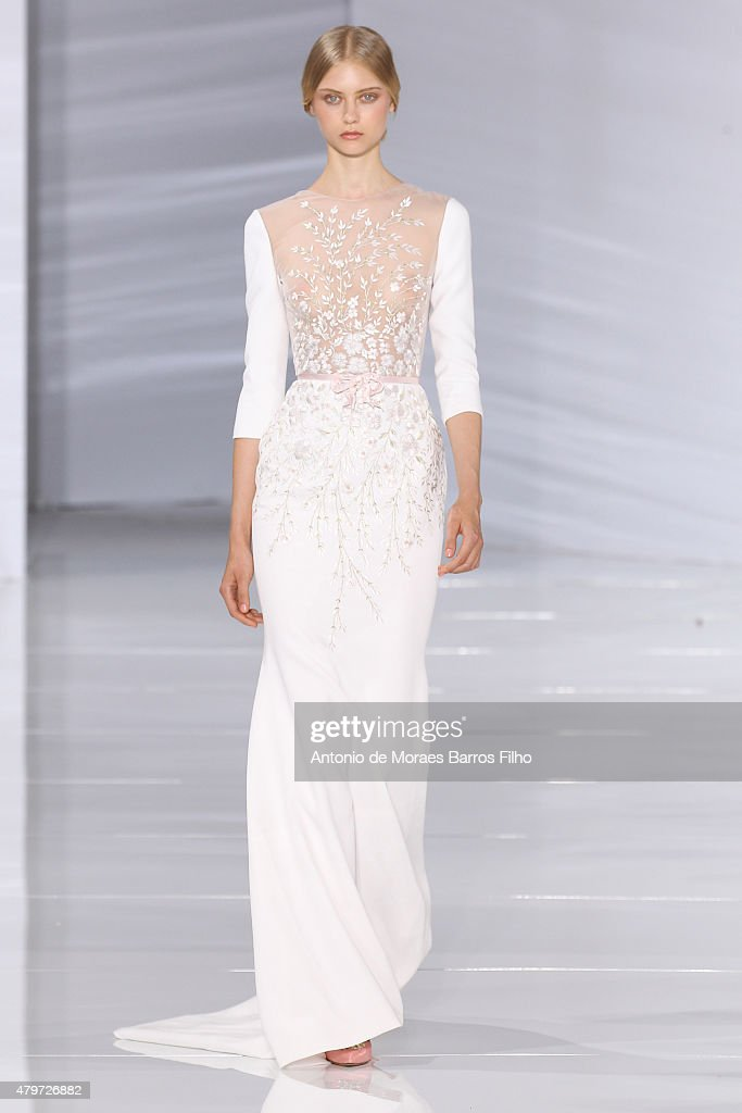 Georges Hobeika  : Runway - Paris Fashion Week - Haute Couture Fall/Winter 2015/2016 : News Photo
