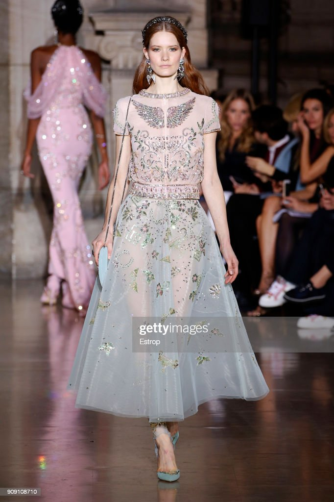 Georges Hobeika : Runway - Paris Fashion Week - Haute Couture Spring Summer 2018