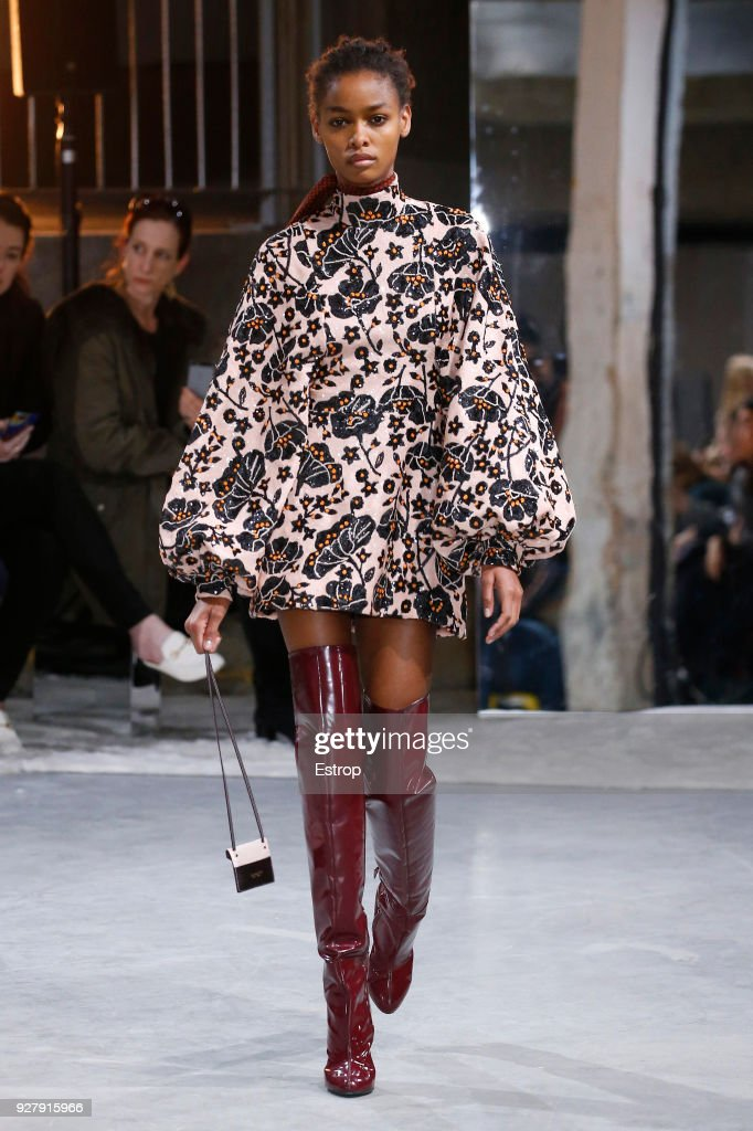 Giambattista Valli : Runway - Paris Fashion Week Womenswear Fall/Winter 2018/2019 : ニュース写真