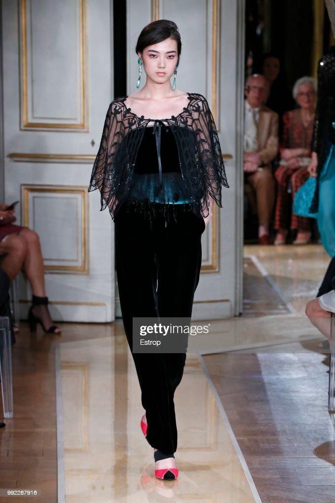 Giorgio Armani Prive : Runway - Paris Fashion Week - Haute Couture Fall Winter 2018/2019 : ニュース写真