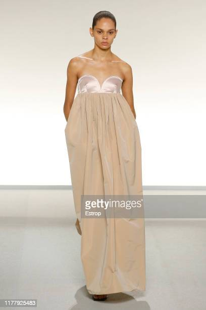 Model walks the runway during the Givenchy Womenswear Spring/Summer 2020 show as part of Paris Fashion Week on September 29, 2019 in Paris, France.