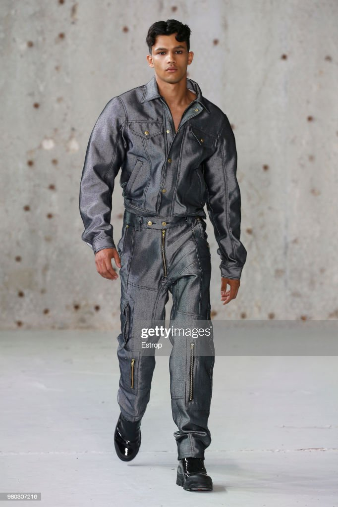 Runway and Presentation -Paris Fashion Week - Menswear Spring-Summer 2019