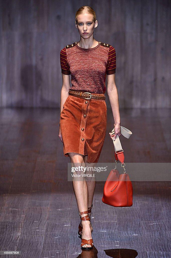 d832f8c824b Gucci - Runway - Milan Fashion Week Womenswear Spring Summer 2015   News  Photo