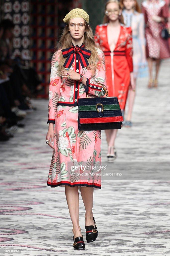 Gucci - Runway - Milan Fashion Week SS16 : News Photo