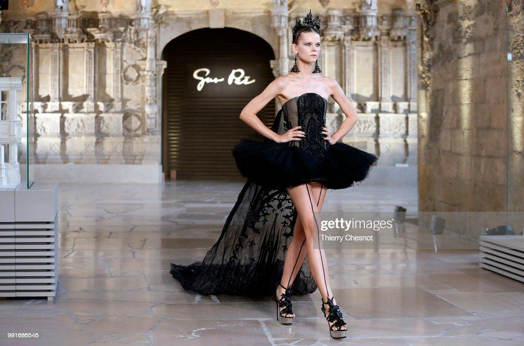 FRA: Guo Pei : Runway - Paris Fashion Week - Haute Couture Fall Winter 2018/2019