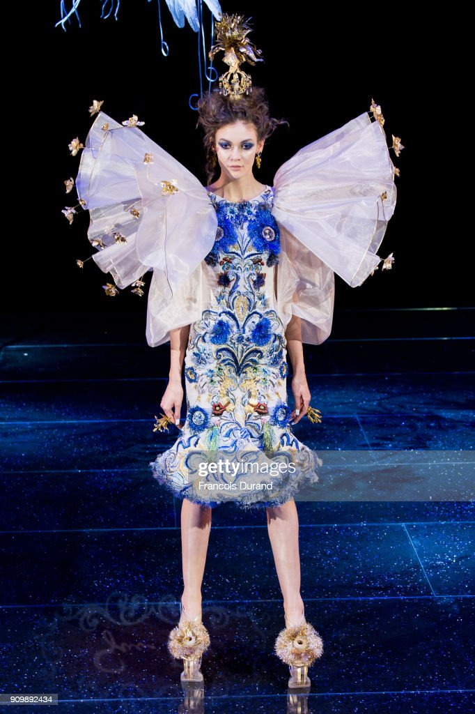 model-walks-the-runway-during-the-guo-pei-spring-summer-2018-show-as-picture-id909892434