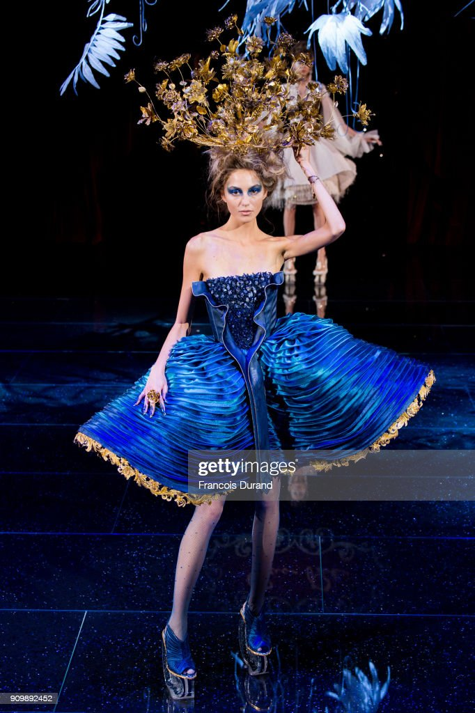 model-walks-the-runway-during-the-guo-pei-spring-summer-2018-show-as-picture-id909892452