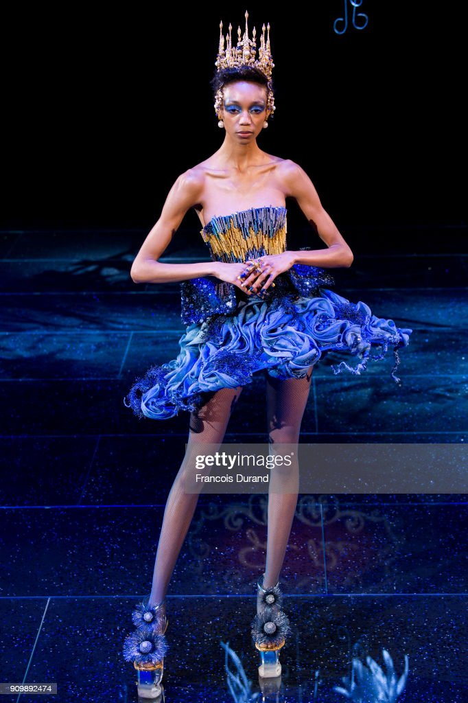 model-walks-the-runway-during-the-guo-pei-spring-summer-2018-show-as-picture-id909892474