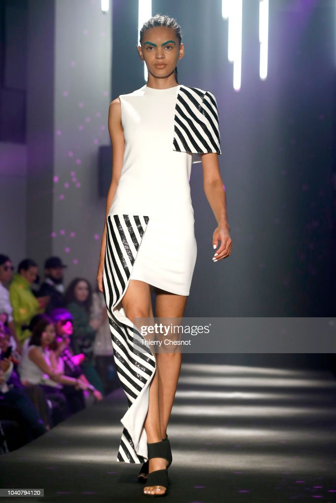 model-walks-the-runway-during-the-guy-laroche-show-as-part-of-the-picture-id1040794120
