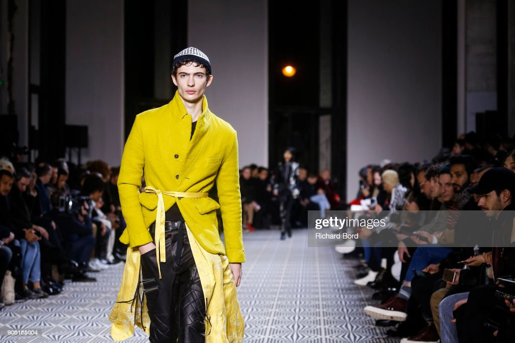 Haider Ackermann : Runway - Paris Fashion Week - Menswear F/W 2018-2019