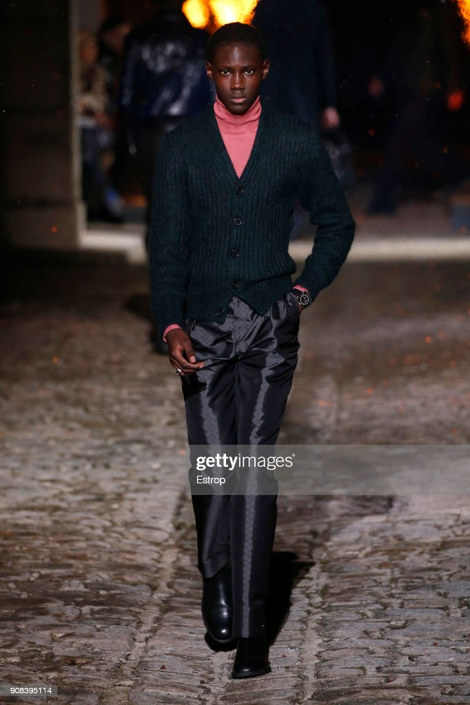 Hermes : Runway - Paris Fashion Week - Menswear F/W 2018-2019 : Nachrichtenfoto