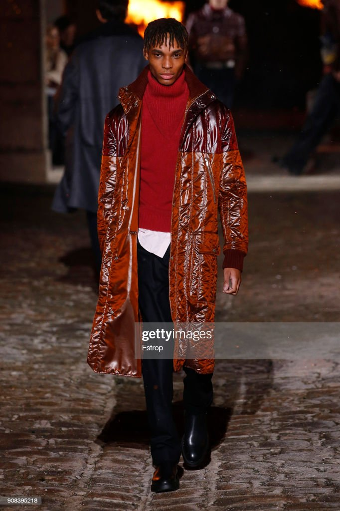 Hermes : Runway - Paris Fashion Week - Menswear F/W 2018-2019 : News Photo