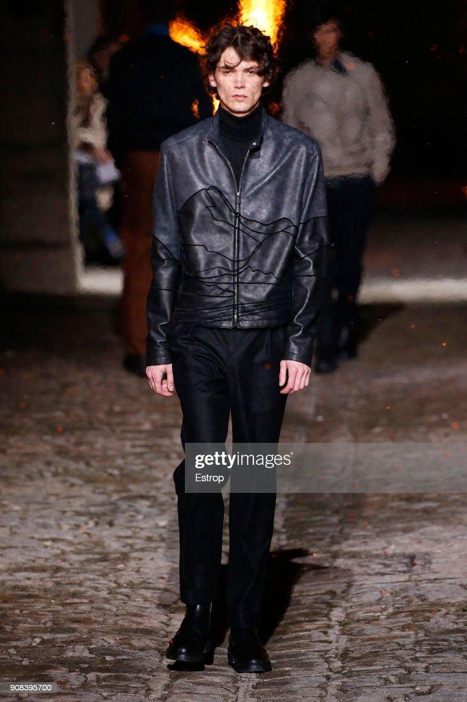 Hermes : Runway - Paris Fashion Week - Menswear F/W 2018-2019 : ニュース写真