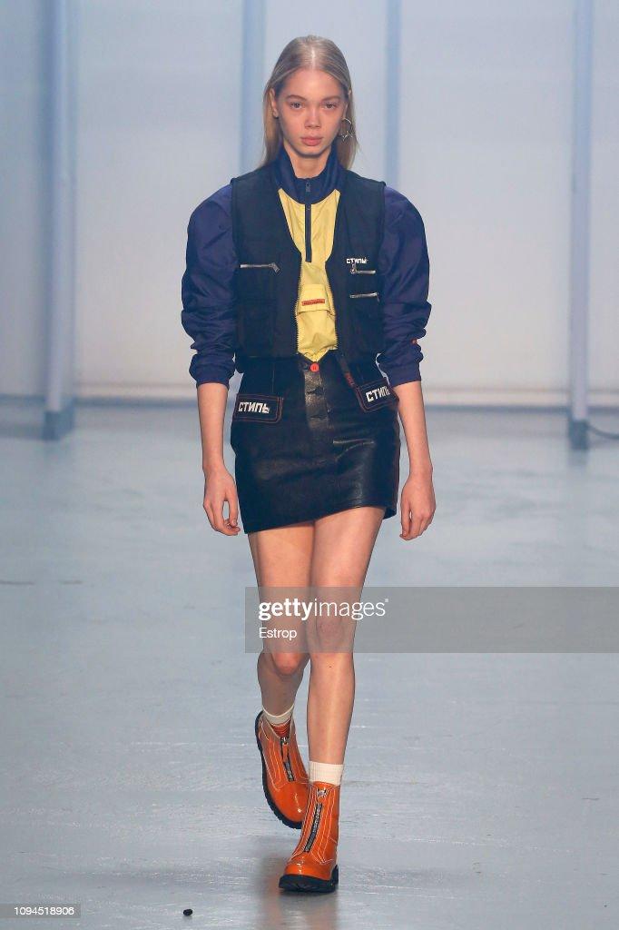 Heron Preston : Runway - Paris Fashion Week - Menswear F/W 2019-2020 : ニュース写真
