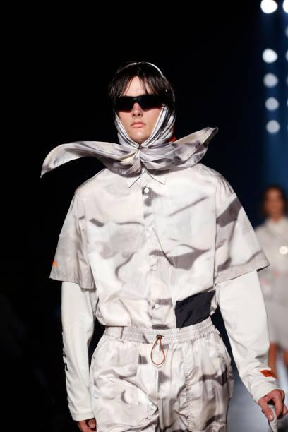 FRA: Heron Preston : Runway - Paris Fashion Week - Menswear Spring/Summer 2020