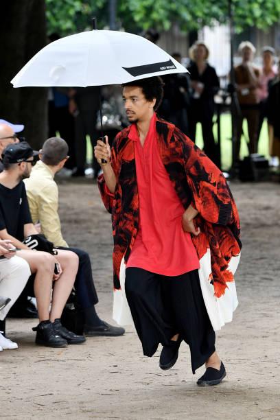 FRA: Issey Miyake Men : Runway - Paris Fashion Week - Menswear Spring/Summer 2020