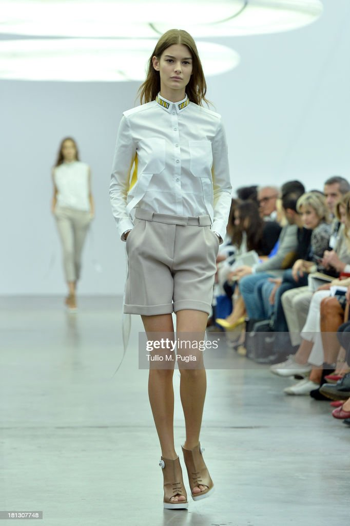 Iceberg - Runway - Milan Fashion Week Womenswear Spring/Summer 2014
