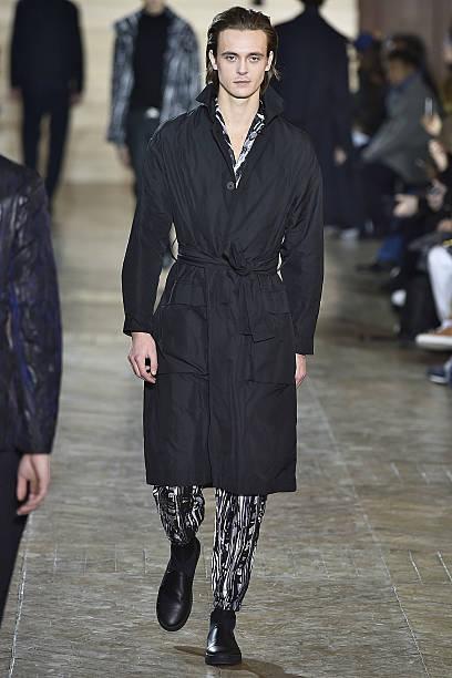 5353d642ea7f A model walks the runway during the Issey Miyake Men Menswear Fall Winter  2017-
