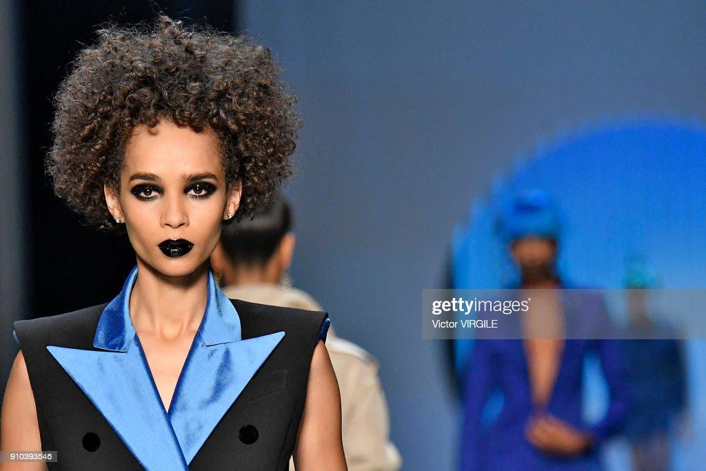 Jean Paul Gaultier : Runway - Paris Fashion Week - Haute Couture Spring Summer 2018 : News Photo