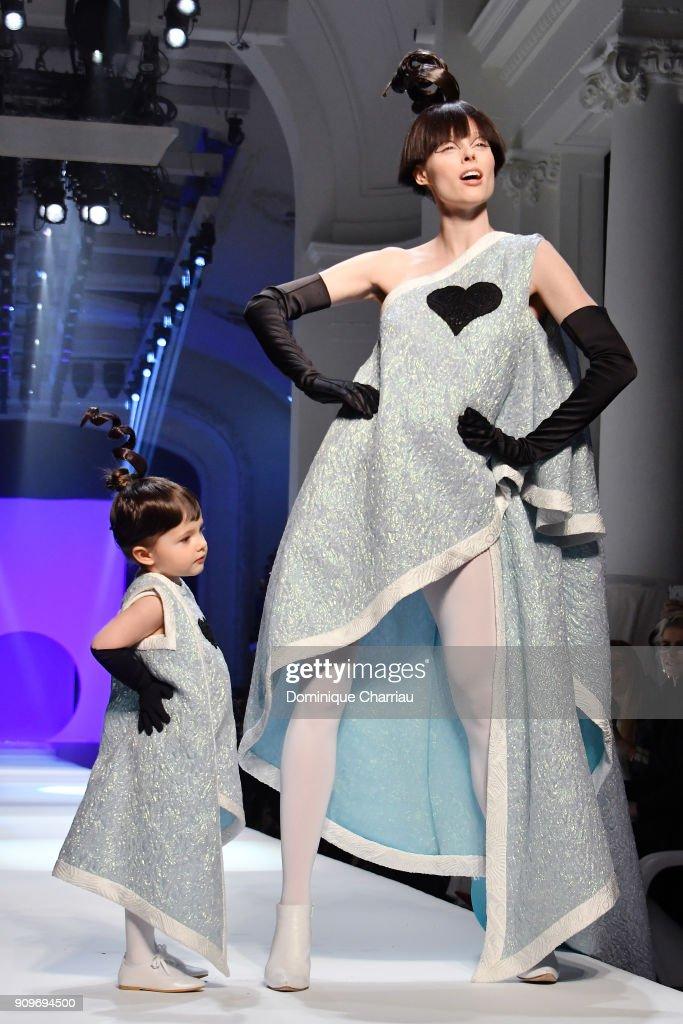 Jean-Paul Gaultier celebrates the 1960's at Paris Fashion Week