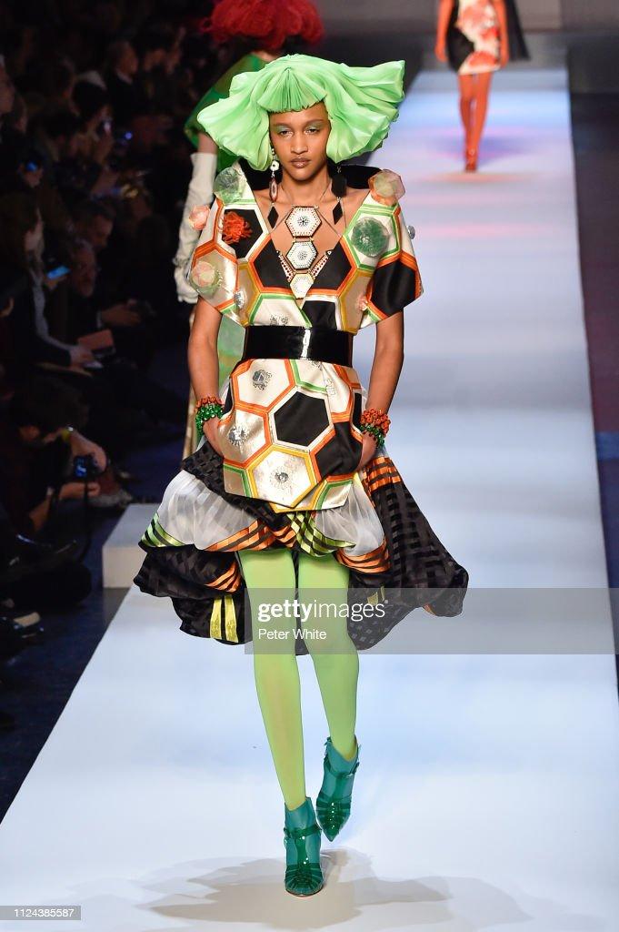 Jean-Paul Gaultier : Runway - Paris Fashion Week - Haute Couture Spring Summer 2019 : News Photo