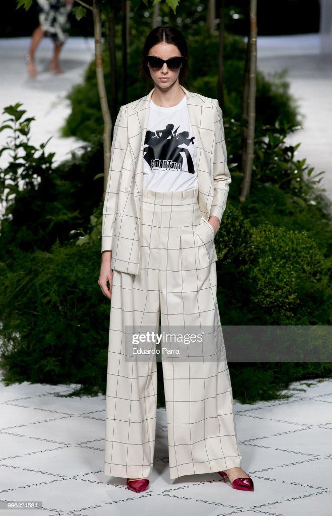 Jorge Vazquez Catwalk - Mercedes Benz Fashion Week Madrid - July 2018 : News Photo