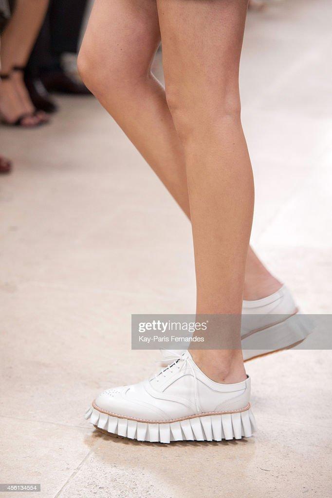 Julien David : Runway - Paris Fashion Week Womenswear Spring/Summer 2015 : News Photo