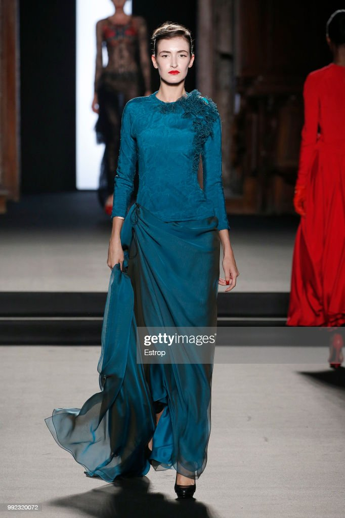 FRA: Julien Fournie : Runway - Paris Fashion Week - Haute Couture Fall Winter 2018/2019
