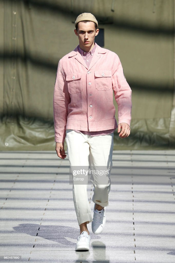 Junya Watanabe Man: Runway - Paris Fashion Week - Menswear Spring/Summer 2019