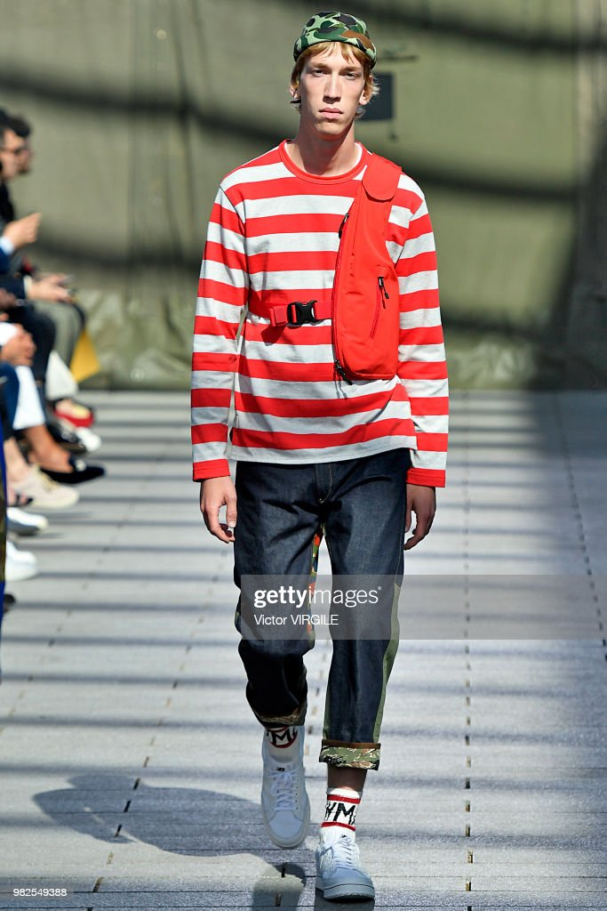 Junya Watanabe Man : Runway - Paris Fashion Week - Menswear Spring/Summer 2019