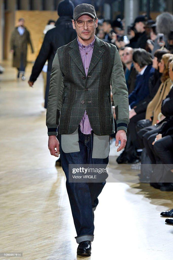 Junya Watanabe Man : Runway - Paris Fashion Week - Menswear F/W 2019-2020 : ニュース写真