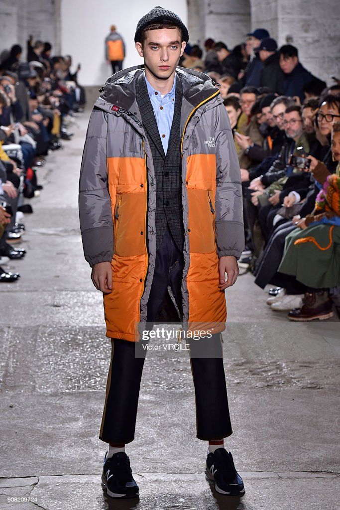 Junya Watanabe : Runway - Paris Fashion Week - Menswear F/W 2018-2019 : ニュース写真