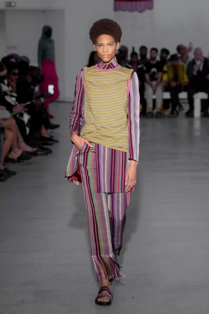FRA: Kenneth Ize : Runway - Paris Fashion Week - Womenswear Spring Summer 2022
