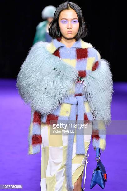 A model walks the runway during the Kenzo Menswear Fall/Winter 20192020 show as part of Paris Fashion Week on January 20 2019 in Paris France